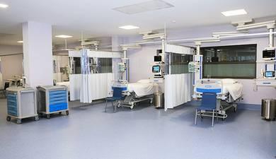 Possuirmos no Hospital Particular da Madeira uma unidade de cuidados intensivos.