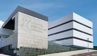 Apresentamos numa cerimónia pública o Hospital Particular da Madeira