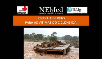 Recolha de bens para as vítimas do ciclone Idai