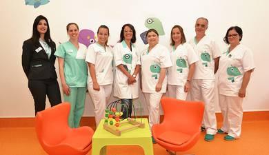 A nossa equipa de Pediatras do Hospital Particular da Madeira