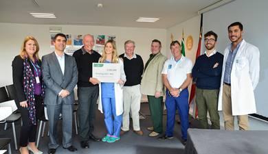 Hospital de Dia de Oncologia de Gambelas recebeu um donativo do Alto Club de Golf de Portimão